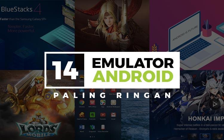 Emulator Android Paling Ringan Untuk Windows dan MacOS!