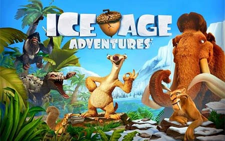 Game petualangan - Ice Age Adventures
