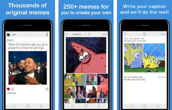 Aplikasi pembuat meme terbaik
