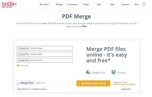 Cara Menggabung File PDF Online dan Offline PC dan HP