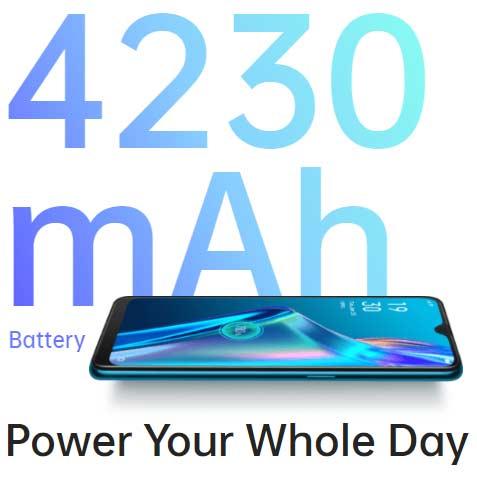 Spesifikasi baterai Oppo A12