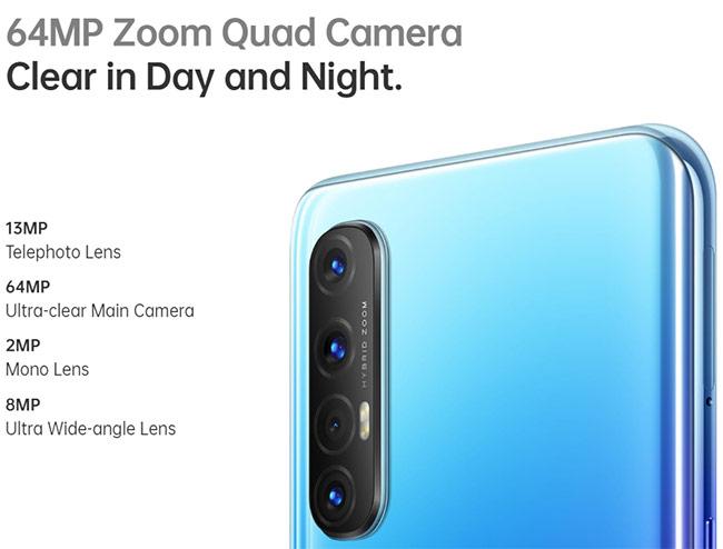 Spesifikasi kamera Oppo Reno 3 Pro