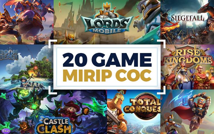 20 Game Mirip COC Offline dan Online Terbaik