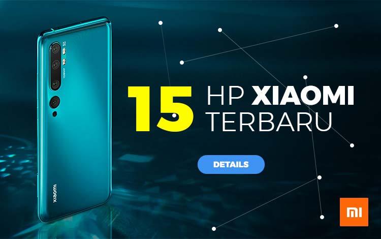 15 HP Xiaomi terbaru 2020