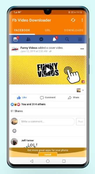Aplikasi Download Video Facebook Android 2020