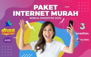 Paket internet murah semua operator 2020