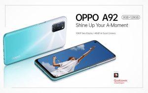 Spesifikasi, kekurangan dan kelebihan Oppo A92
