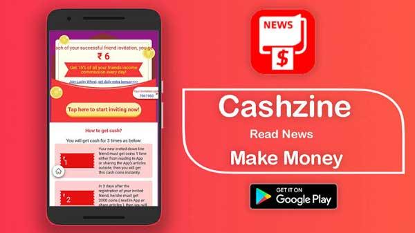 Review Aplikasi Cashzine: Scam atau Legit?