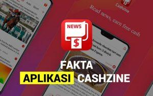 Fakta aplikasi Cashzine