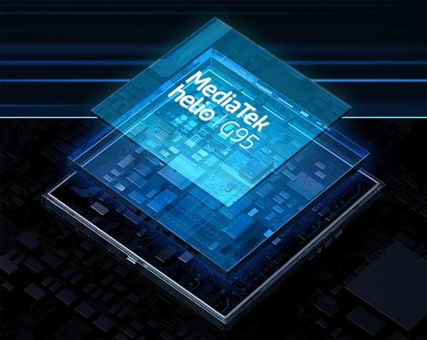 Procesor realme 7 - MediaTek Helio G95