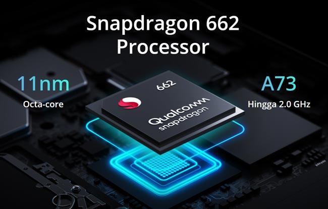 Processor realme 7i - Snapdragon 662