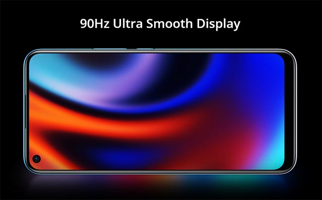 realme 7i ultra smooth display