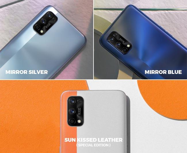 Pilihan warna realme 7 Pro