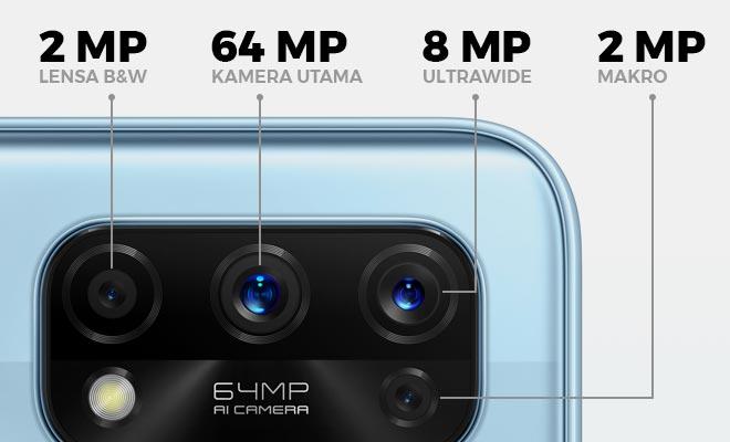 Spesifikasi kamera realme 7 Pro