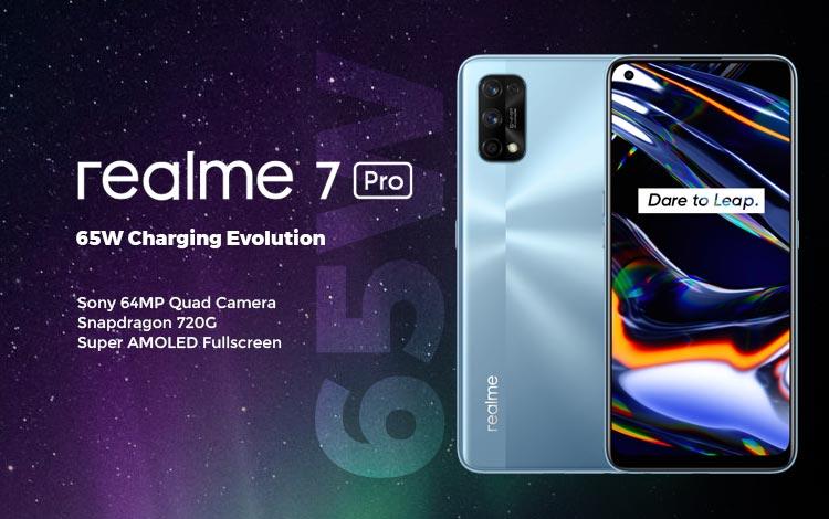 Spesifikasi, Kelebihan dan Kekurangan Realme 7 Pro