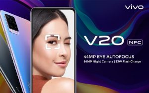 Spesifikasi, kelebihan dan kekurangan vivo V20