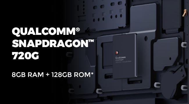 Spesifikasi processor vivo V20 - Qualcomm snapdragon 720G