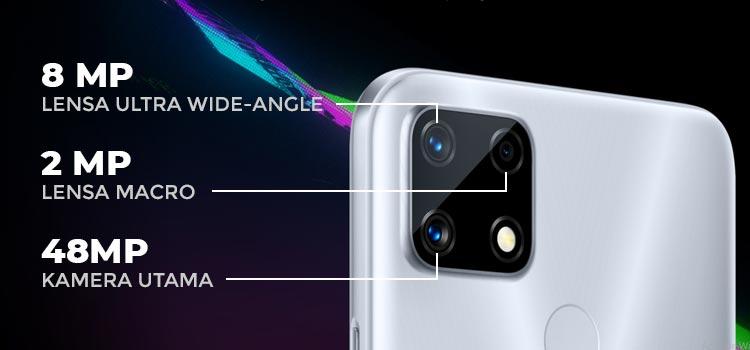 Spesifikasi kamera realme narzo 20