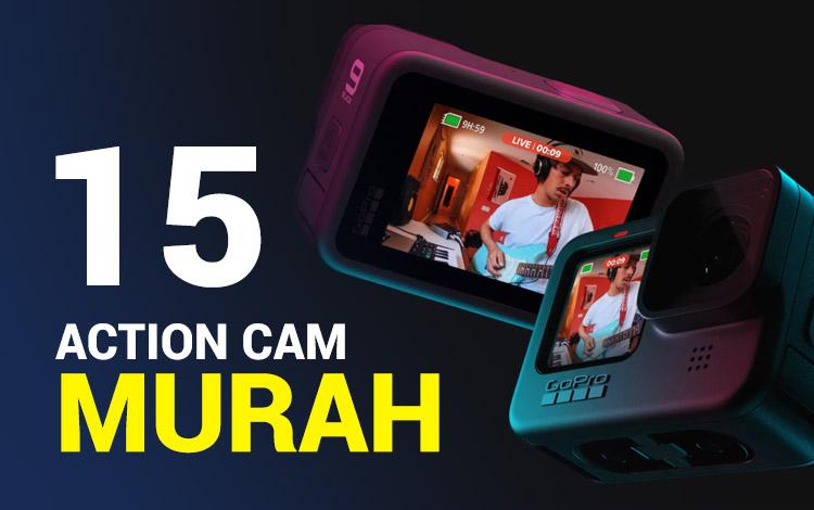 15 Action Cam Murah Dengan Kualitas Terbaik 2021