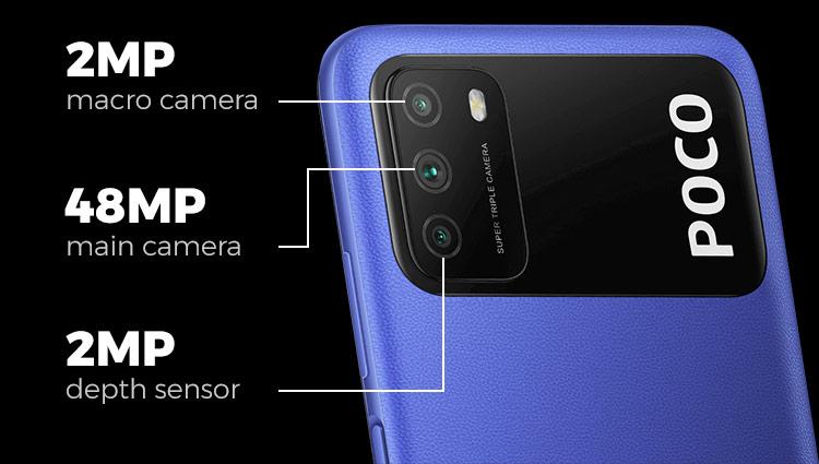 Spesifikasi kamera Xiaomi Poco M3