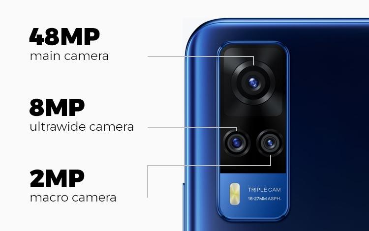 Spesifikasi kamera vivo Y51