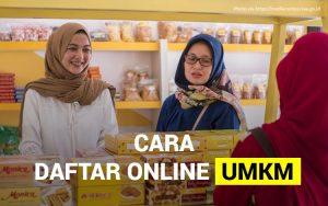 Cara daftar online UMKM