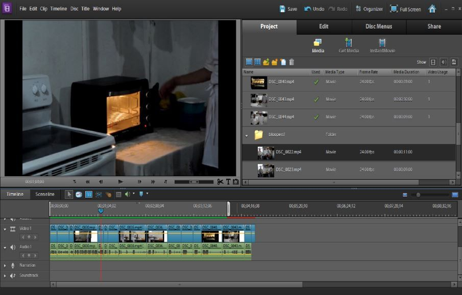 Adobe's Premiere Elements