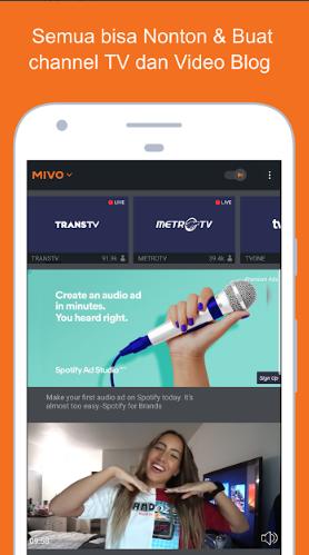 Aplikasi TV Online Terbaik