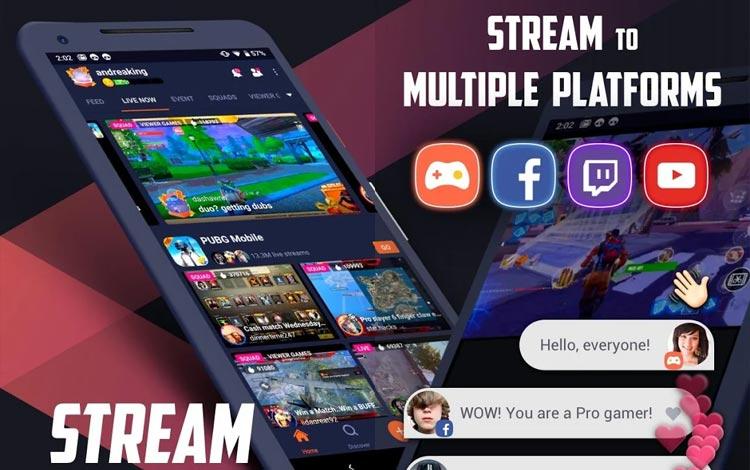 15 Aplikasi Live Streaming Game Terbaik Untuk Android Dan PC