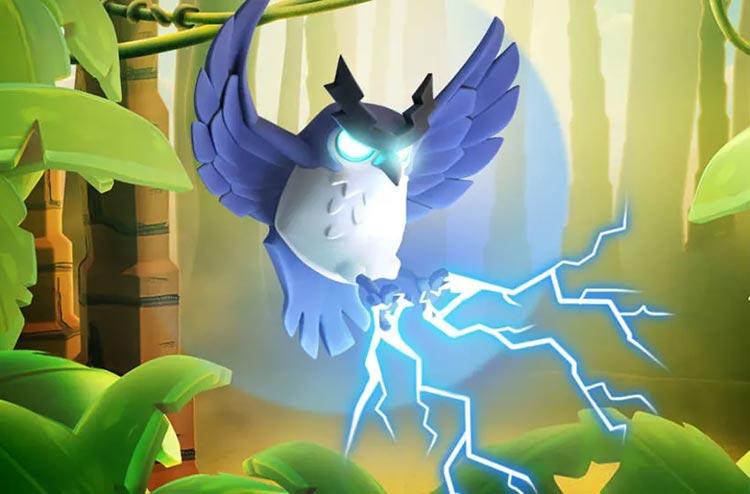 Electro Owl - Hero Pets Town Hall 14