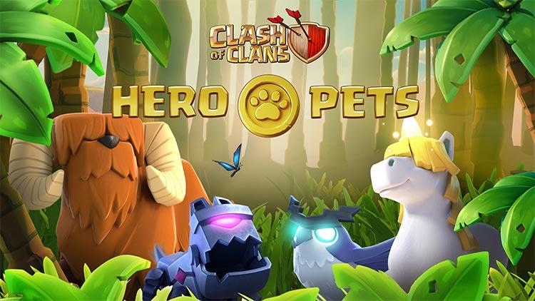 Hero Pets CoC Town Hall 14