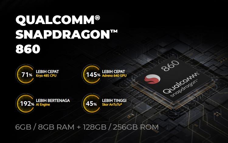 Spesifikasi processor, RAM dan ROM Poco X3 Pro