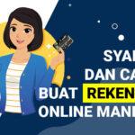 Syarat dan Cara Buat Rekening Online Mandiri