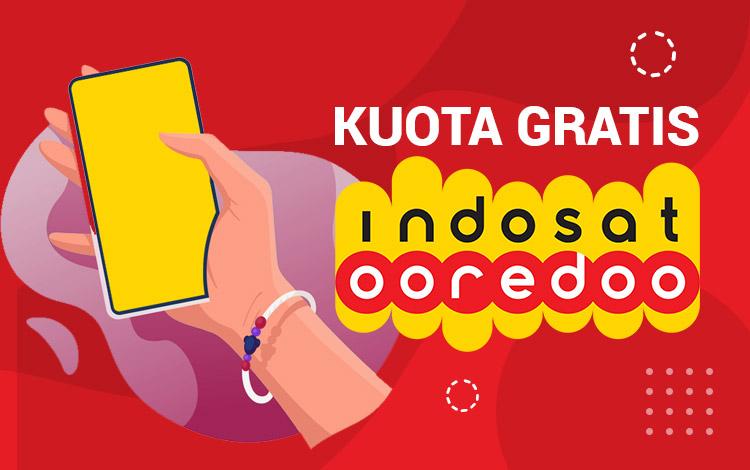 Tips Cara Mendapatkan Kuota Gratis Indosat 2021, Internetan Jadi Lancar