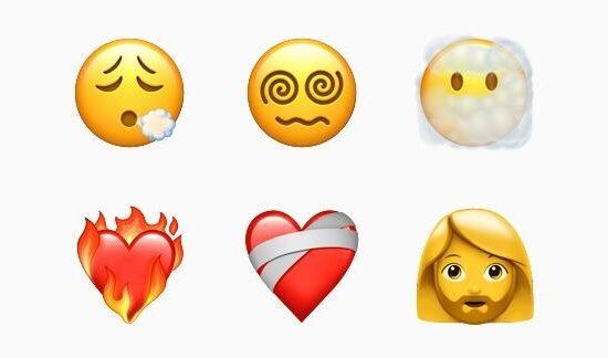 emoji baru di iOS/Apple