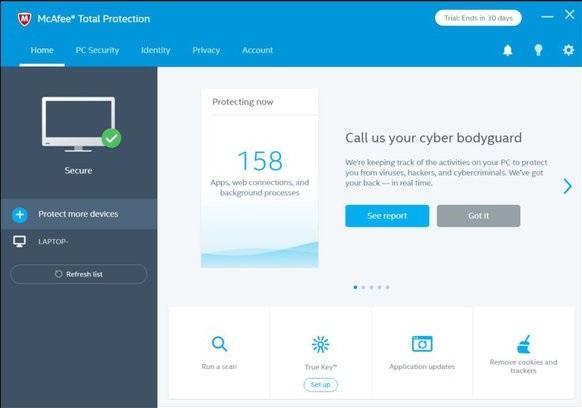 antivirus/Mcafee.com