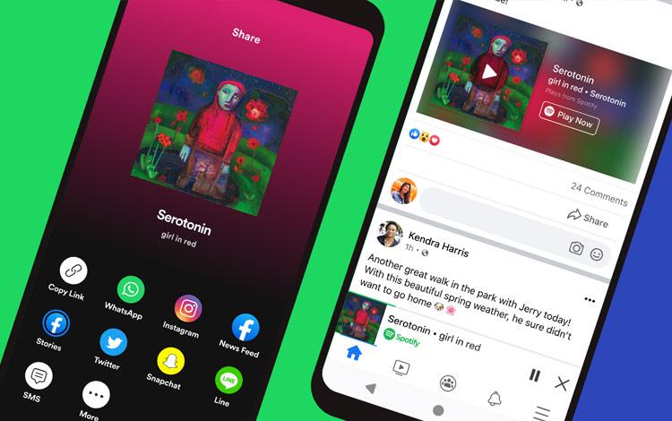 Spotify Rilis Fitur Untuk Dengarkan Musik dan Podcast di Aplikasi Facebook