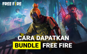 Cara dapatkan bundle Free Fire gratis
