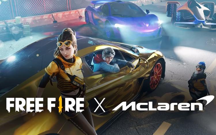 Keren! Kolaborasi Free Fire x McLaren Hadirkan Supercar Baru