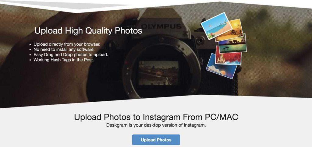 Cara Upload Foto dan Video Instagram Lewat PC