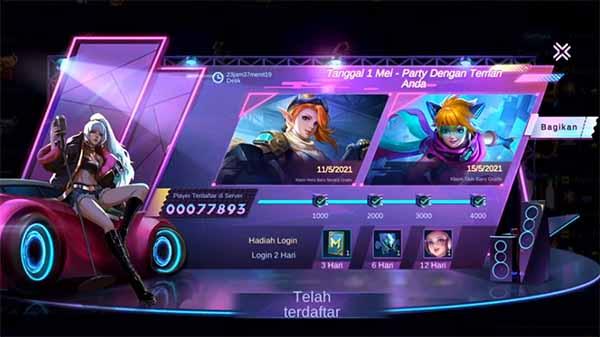 Cara Mendapatkan Skin Mobile Legends Gratis 2021