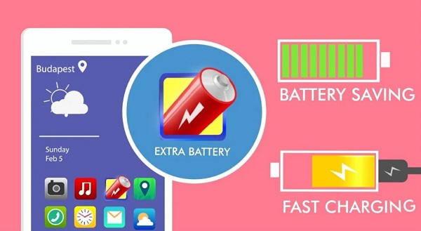 Extra Battery – Battery Saver & Fast Charger