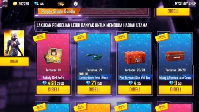 hadiah mystery shop ff