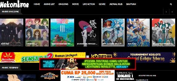 Situs Streaming Anime Sub Indo Terbaik 2021