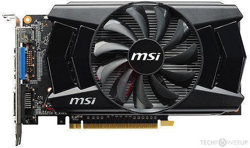 MSI GTX 750 OC 2GB DDR5 N750