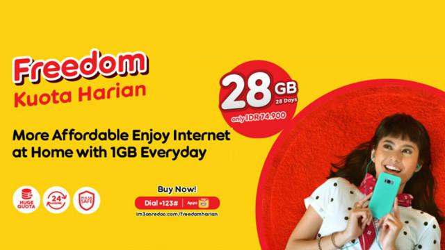 Paket Internet Indosat Ooredoo Terbaru Juni 2021