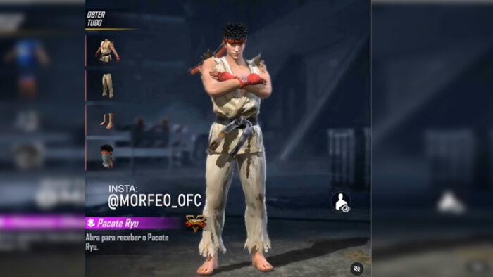 Kolaborasi Free Fire x Street Fighter