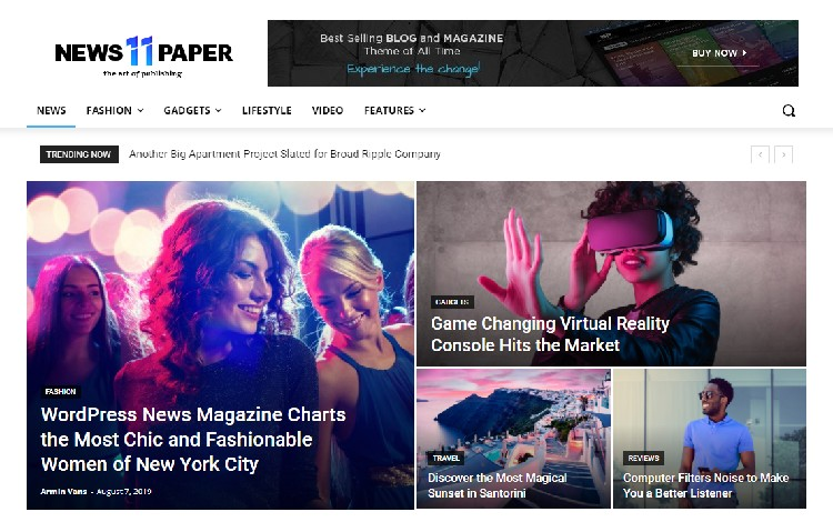 Tema WordPress Berita / Majalah Terbaik