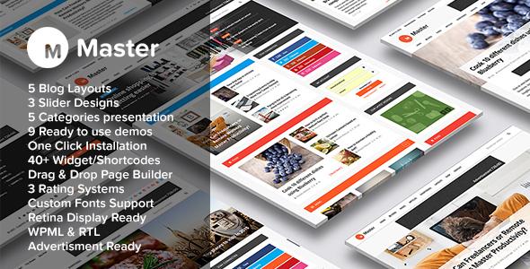 Tema WordPress Berita/Majalah Terbaik