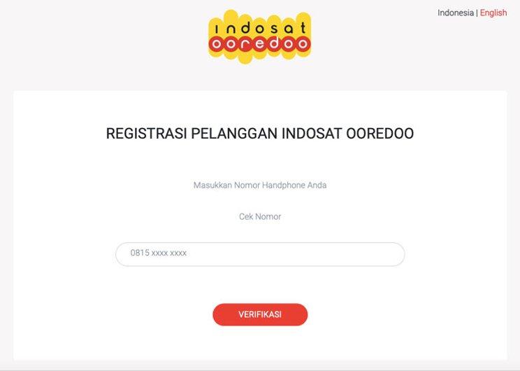 Cara Registrasi Kartu IM3 Indosat Oredoo Mudah dan Simpel